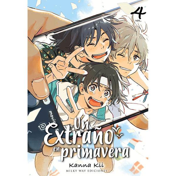 Un extraño en primavera #04 Manga Oficial Milky Way Ediciones