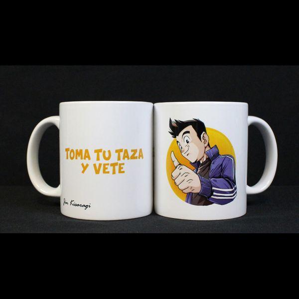 Taza Jin Kisaragi - Toma Tu Taza y Vete