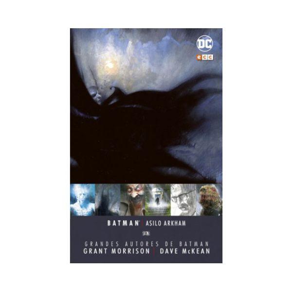 Grandes Autores de Batman: Grant Morrison y Dave Mckean - Asilo Arkham