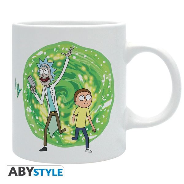 Rick & Morty Mug Portal