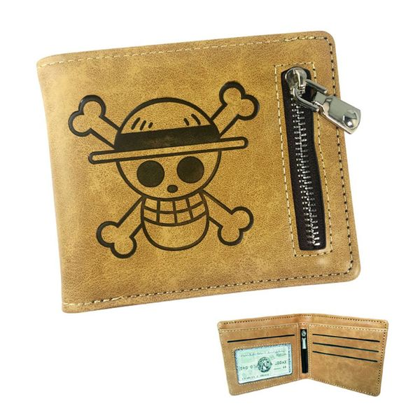 Luffy Skull Leather Wallet One Piece