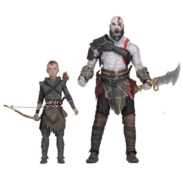 Figura Kratos & Atreus Set God Of War