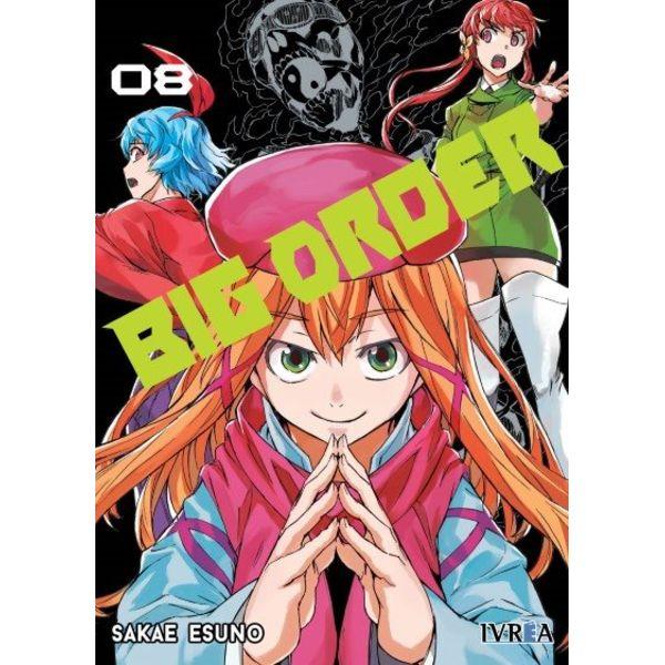 Big Order #08 (Spanish) Manga Oficial Ivrea