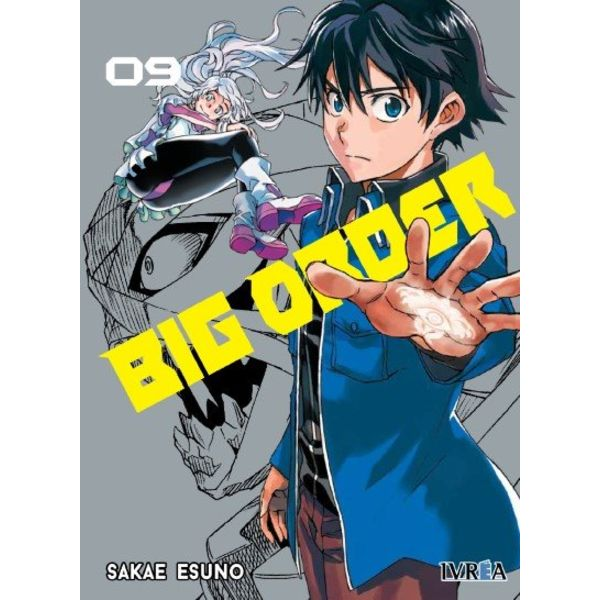 Big Order #09 Manga Oficial Ivrea