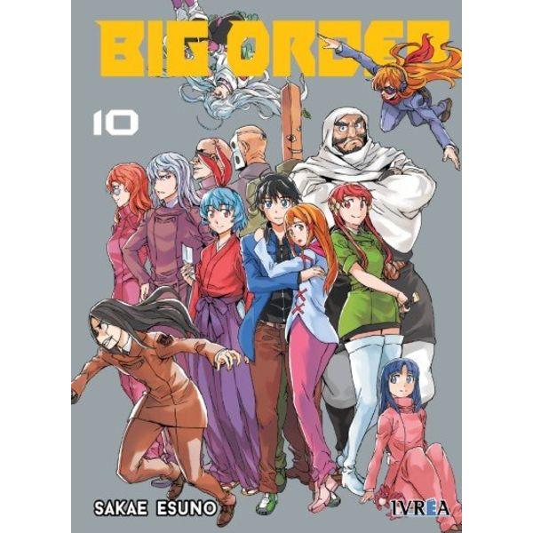 Big Order #10 Manga Oficial Ivrea