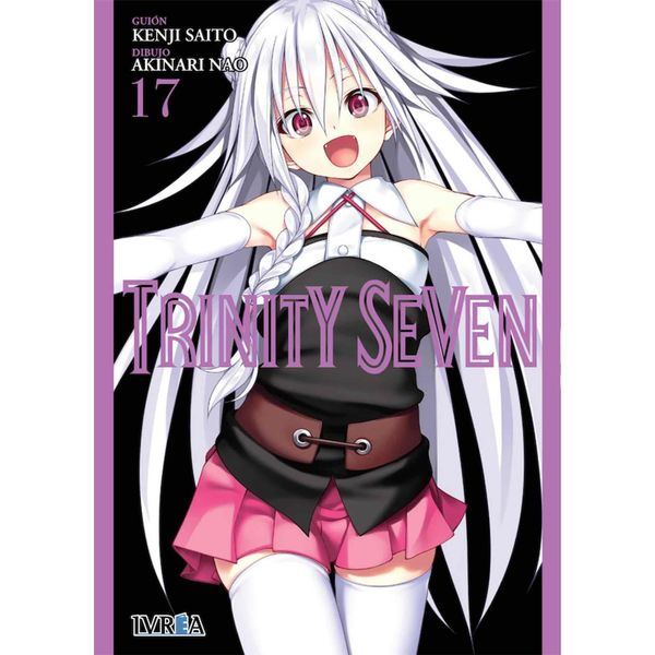 Trinity Seven #17 Manga Oficial Ivrea