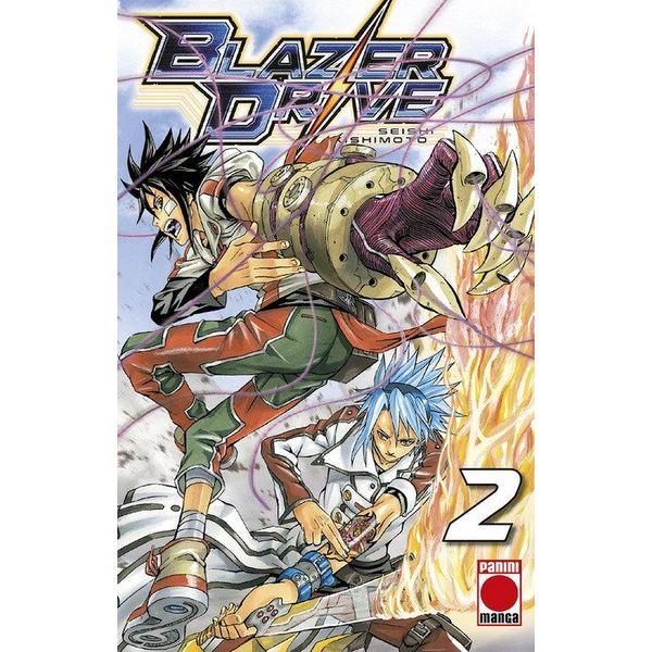 Blazer Drive #02 Manga Oficial Panini Manga