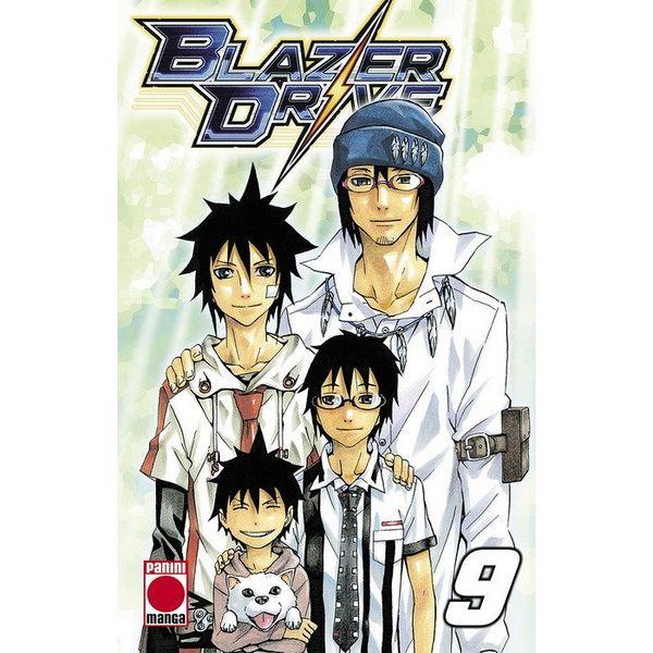 Blazer Drive #09 Manga Oficial Panini Manga