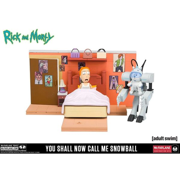 Summer Room Model Kit - Rick and Morty