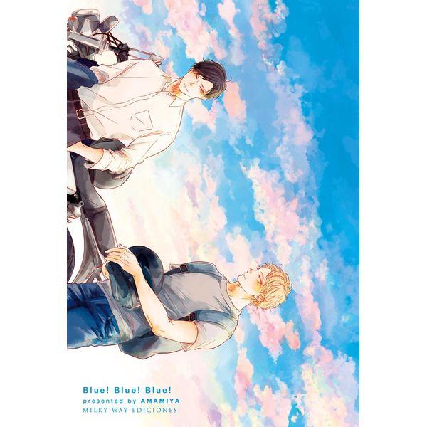 Blue! Blue! Blue!  Manga Oficial Milky Way Ediciones