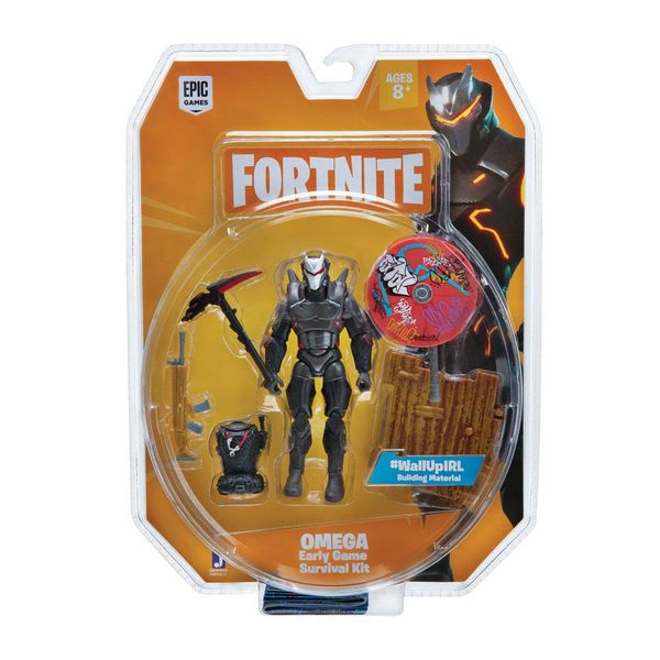 Figura Omega Early Game Survival Kit Fortnite