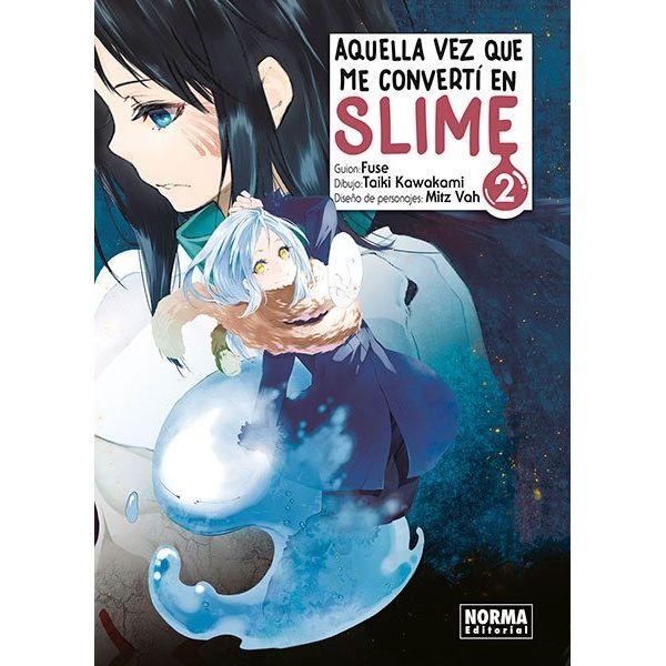Aquella Vez Que Me Convertí En Slime #02 (spanish) Manga Oficial Norma Editorial