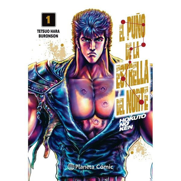 El Puño De La Estrella Del Norte #01 Manga Oficial Planeta Comic