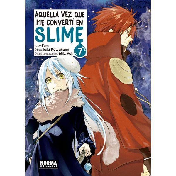 Aquella Vez Que Me Convertí En Slime #07 (spanish) Manga Oficial Norma Editorial