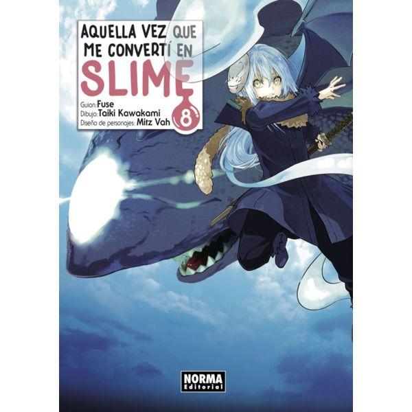Aquella Vez Que Me Convertí En Slime #08 Manga Oficial Norma Editorial