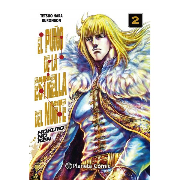 El Puño De La Estrella Del Norte #02 Manga Oficial Planeta Comic