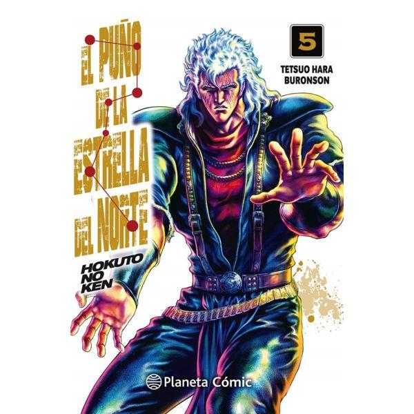 El Puño De La Estrella Del Norte (spanish) #05 Manga Oficial Planeta Comic