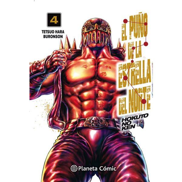 El Puño De La Estrella Del Norte (spanish) #04 Manga Oficial Planeta Comic