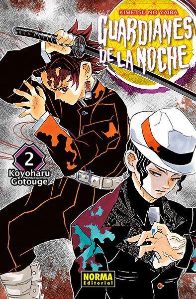Guardianes De La Noche #02 Manga Oficial Norma Editorial