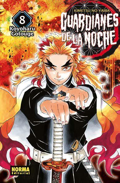 Guardianes De La Noche #08 Manga Oficial Norma Editorial