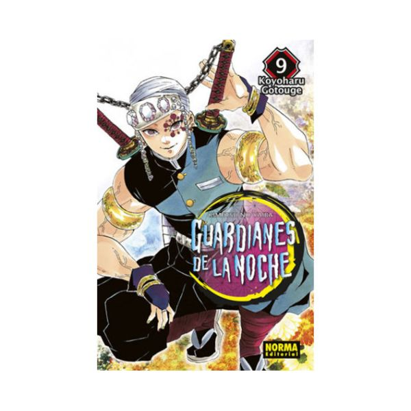 Guardianes De La Noche #09 Manga Oficial Norma Editorial