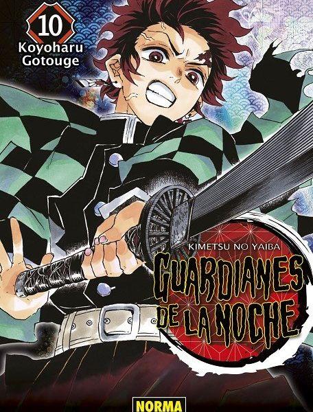 Guardianes De La Noche #10 Manga Oficial Norma Editorial