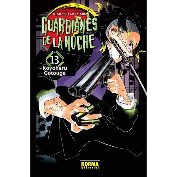 Guardianes De La Noche #13 Manga Oficial Norma Editorial (spanish)