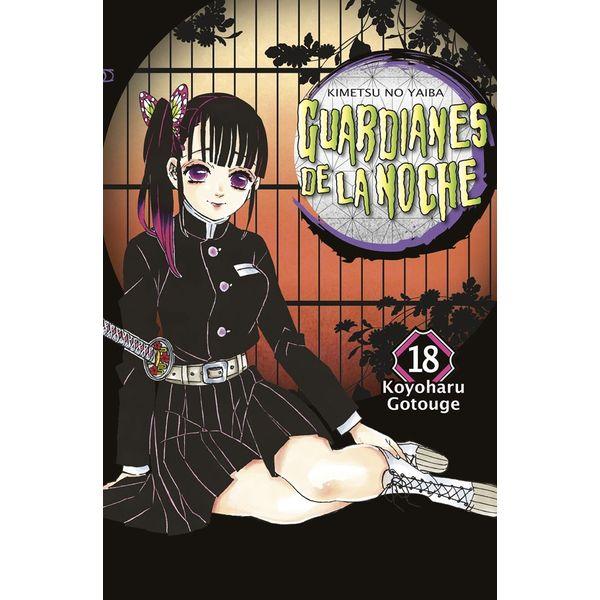 Guardianes De La Noche #18 Manga Oficial Norma Editorial