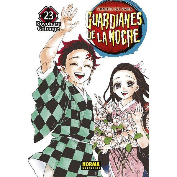 Guardianes De La Noche #23 Manga Oficial Norma Editorial