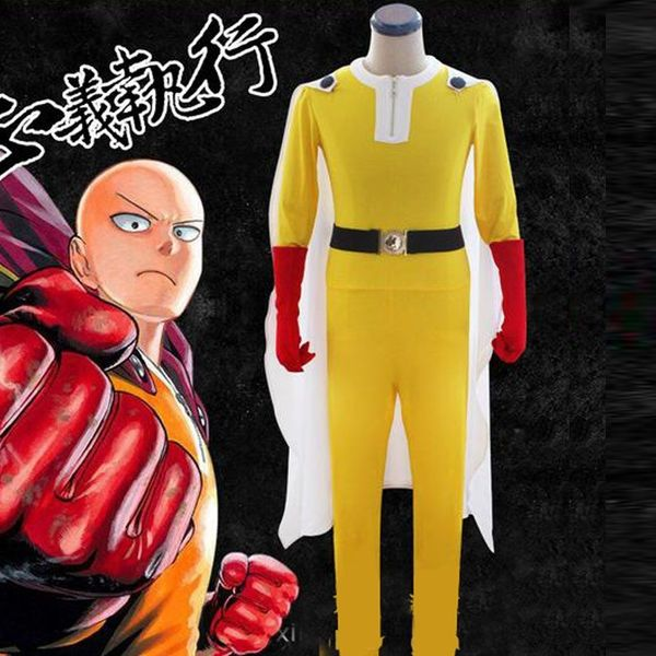 Cosplay Saitama One Punch Man