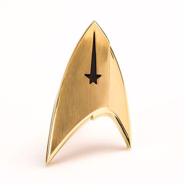 Pin Emblema comandante Enterprise Star Trek