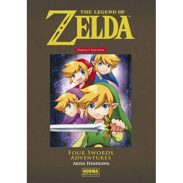 The Legend of Zelda Perfect Edition: Four Swords Adventures Manga Oficial Norma Editorial
