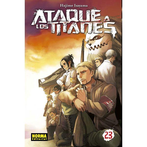 Ataque a los Titanes #23 Manga Oficial Norma Editorial