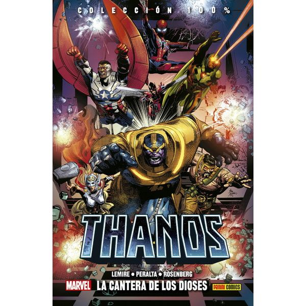 Thanos 2 - La cantera de los dioses