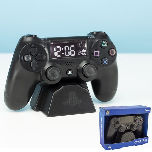 Reloj Despertador Mando PS4 PlayStation