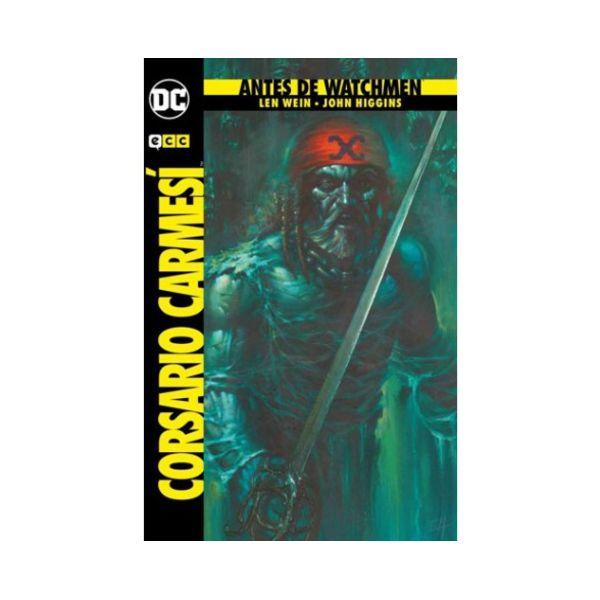 Antes de Watchmen - El Corsario Carmesí