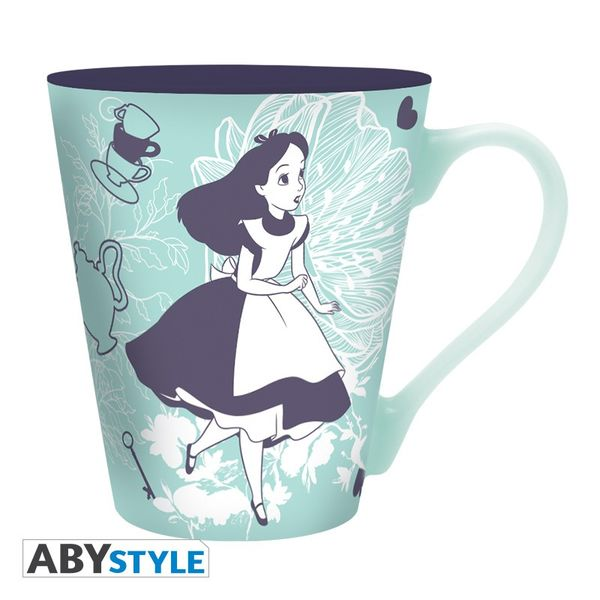 Alice & Cheshire Cat Mug Disney