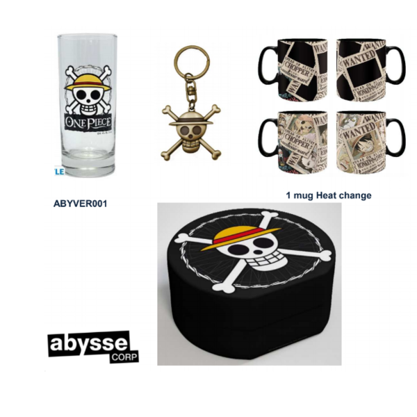 Gift Pack 3D Keychain, Cup and Glass One Piece