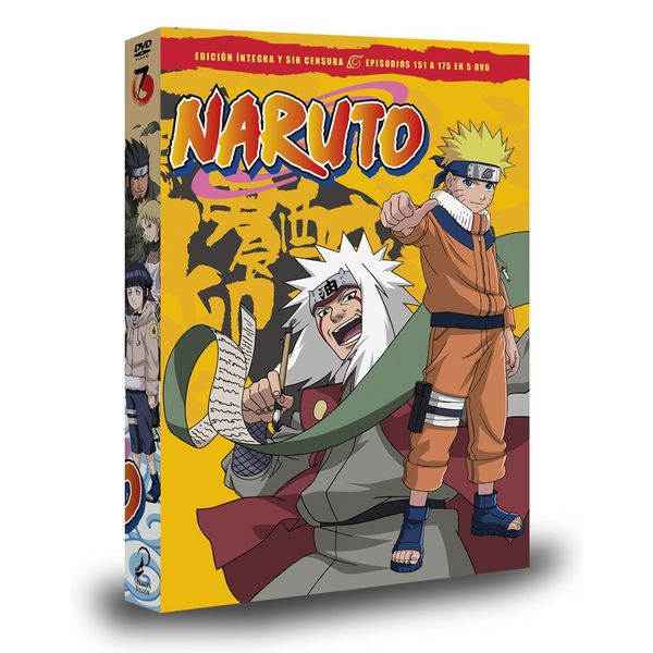 Naruto Box 7 DVD
