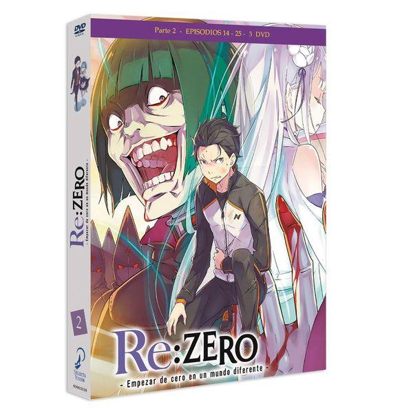 Part 2 Re:Zero - Empezar De Cero En Un Mundo Diferente DVD