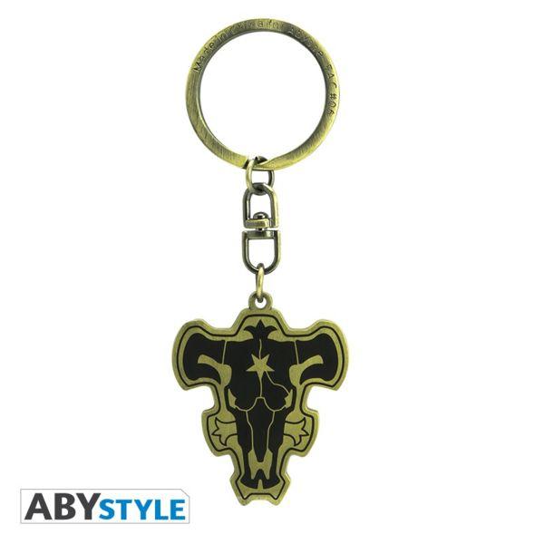 Black Bull Emblem Keychain Black Clover