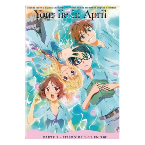 Your Lie In April Parte 1 DVD