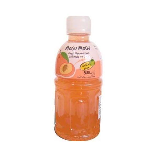 Bebida Mogu Mogu Melocotón & Jelly