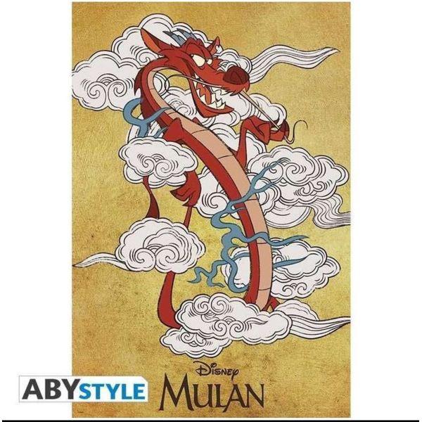 Poster Mushu Mulan Disney 91.5 x 61 cms