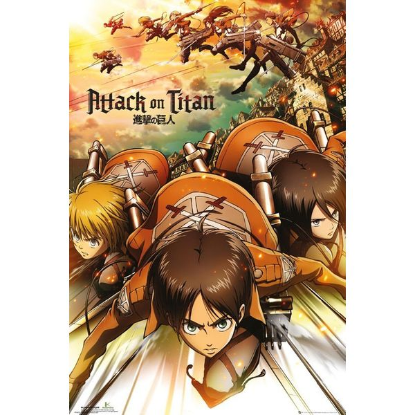 Attack Poster Attack On Titan 61 x 91 cm