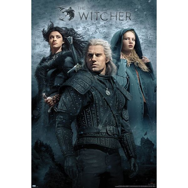 Poster The Witcher Grupo  91 x 61 cms