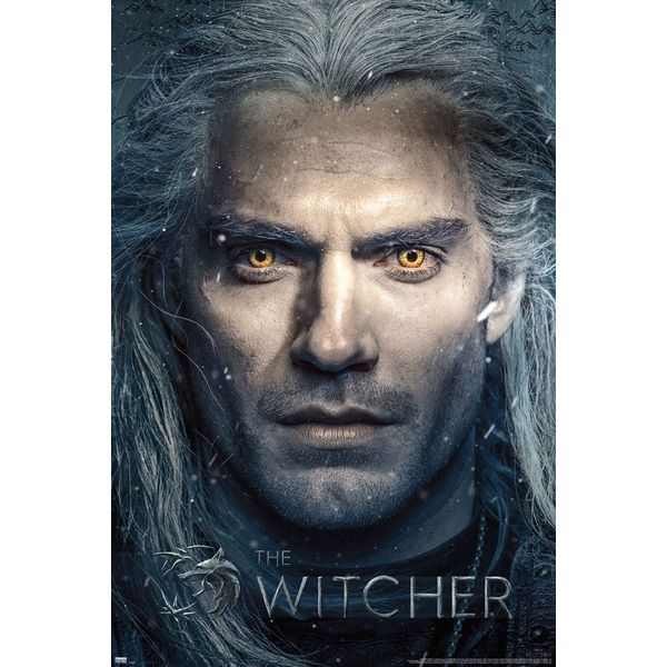 Poster The Witcher Geralt 91 x 61 cms