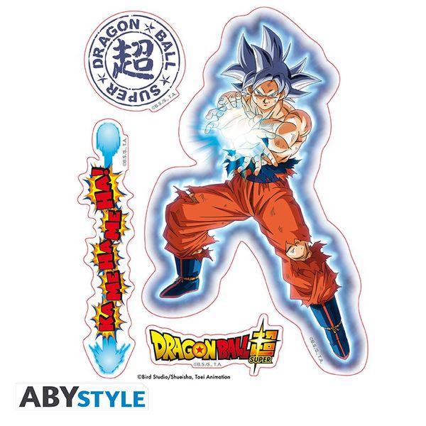 Pegatinas Goku & Vegeta Dragon Ball Super 16 x 11 cm