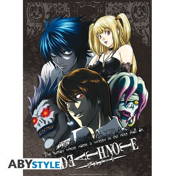 Poster Death Note Set 52 x 38 cms