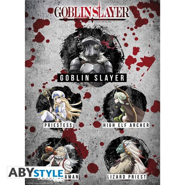 Goblin Slayer Poster Orclog & Group Set 52 x 38 cms